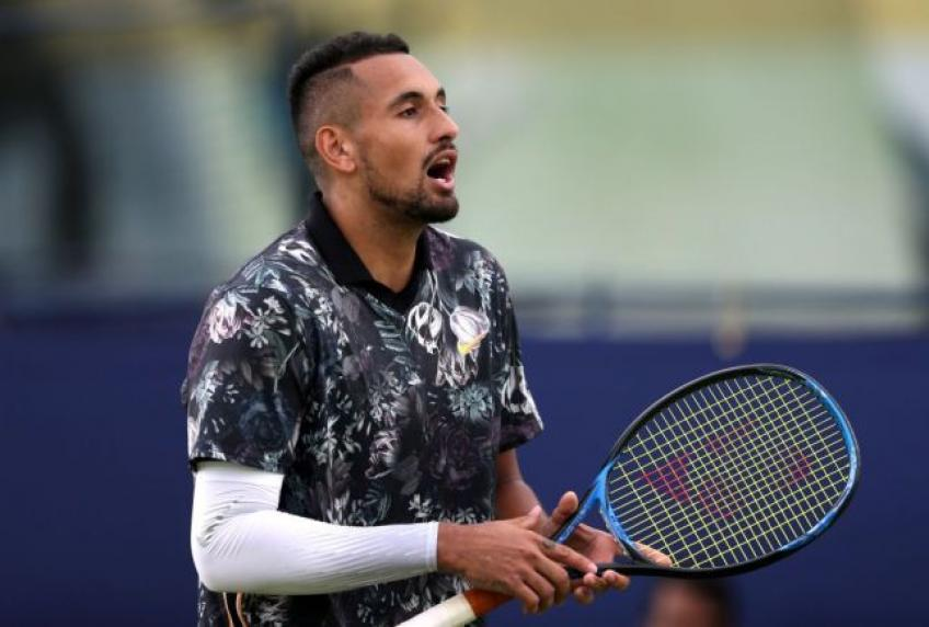 ATP hands Nick Kyrgios 16-week ban for poor behaviour