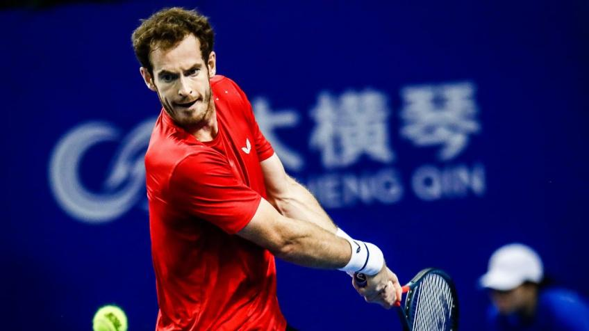 Andy Murray encouraged with his progress after Zhuhai exit