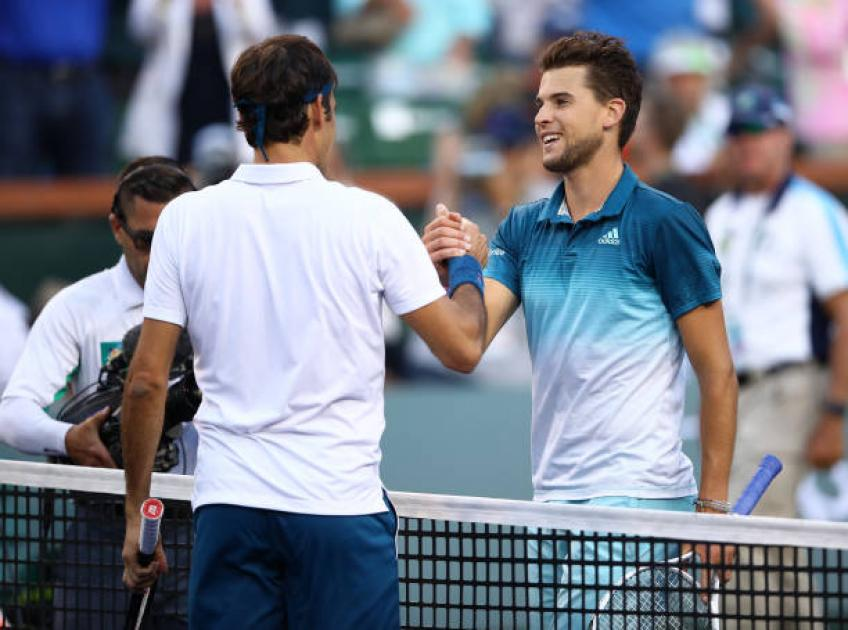 Roger Federer: 'Dominic Thiem is already a giant champion'
