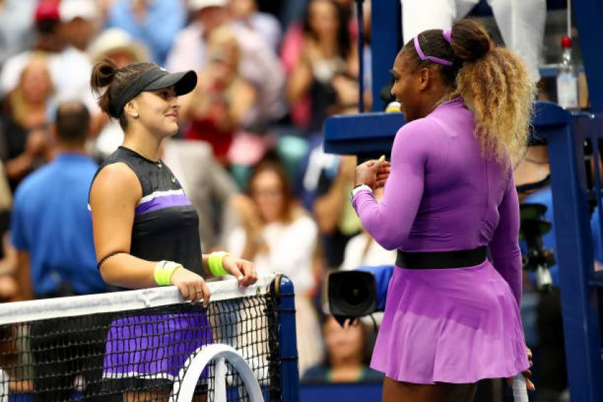 Andreescu shares what she did following US Open win vs Serena Williams