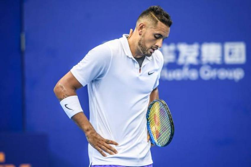 Nick Kyrgios: 'I am just on probation. I can still play, relax!'