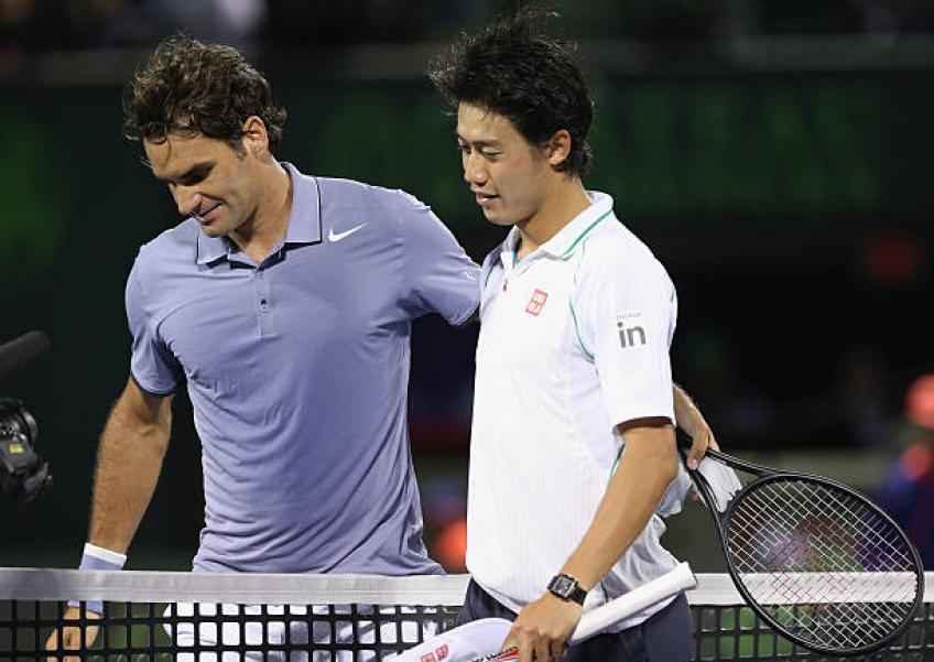 Kei Nishikori disappointed for skipping exhibition match with Roger Federer