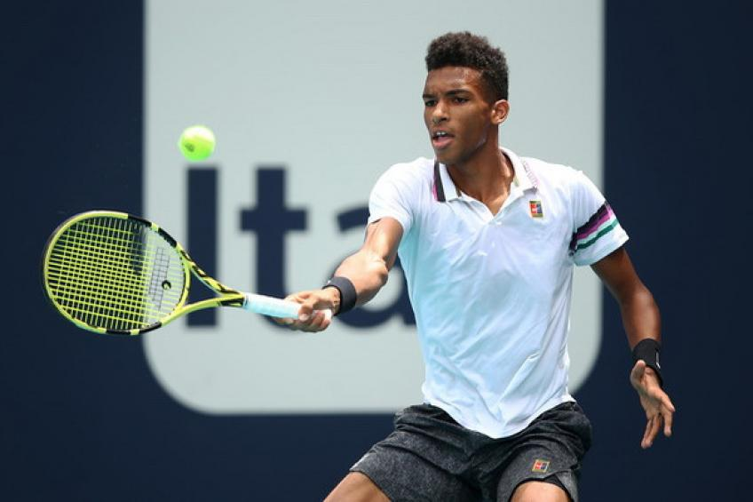 Felix Auger-Aliassime to play Adelaide International in 2020