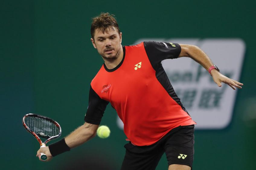 Stan Wawrinka withdraws from Shanghai, skipping third straight event
