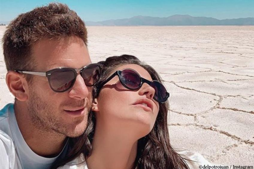 Del Potro spends time with model girlfriend before Stockholm comeback