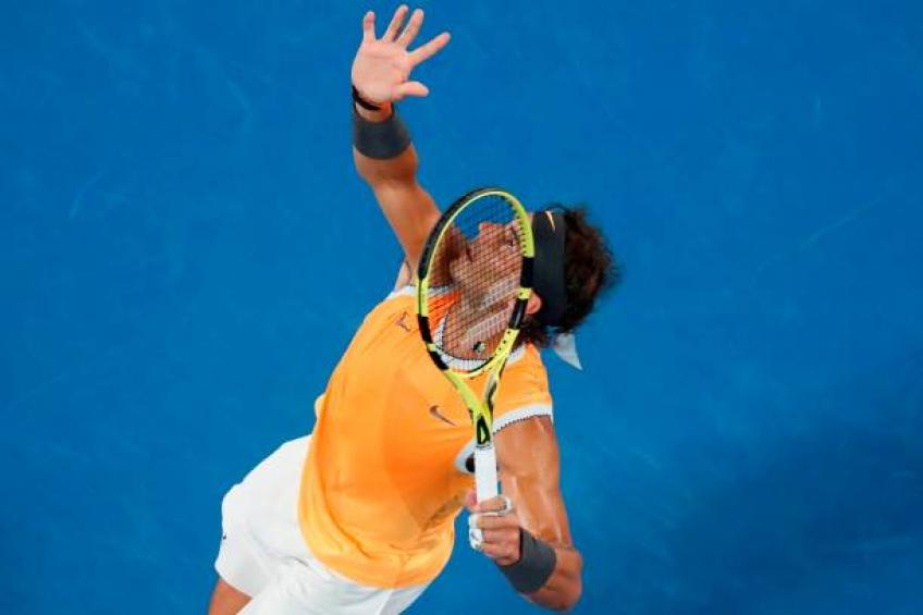 Rafael Nadal: 'My rituals before serving make me being focused'