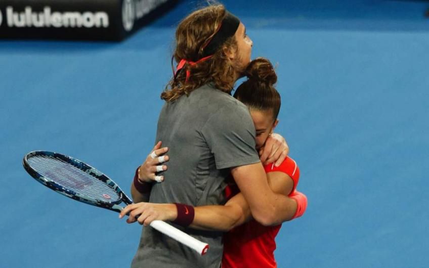 Sakkari: 'I had fun with Stefanos Tsitsipas at Hopman Cup. In Tokyo...'