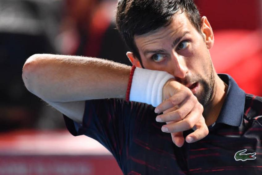 Djokovic cruises past Go Soeda on home turf to make quarters