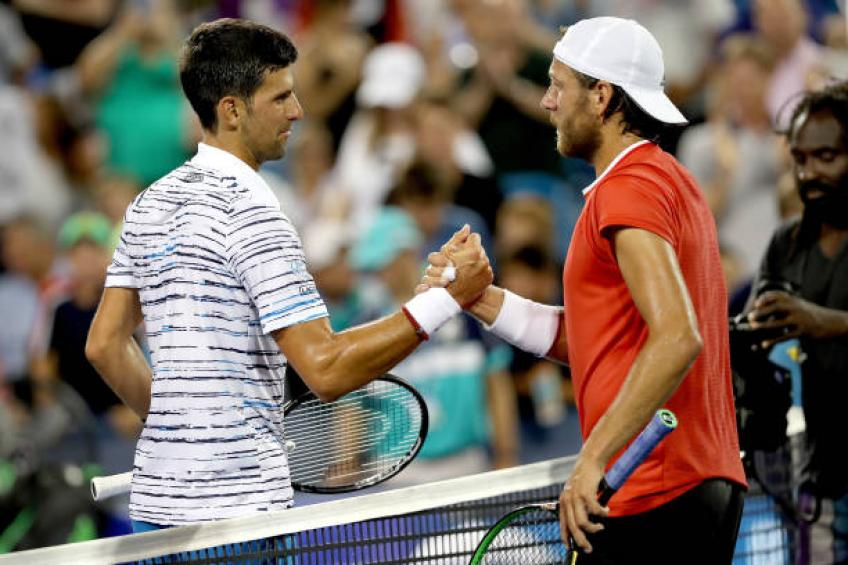 Lucas Pouille shares plan to beat Novak Djokovic