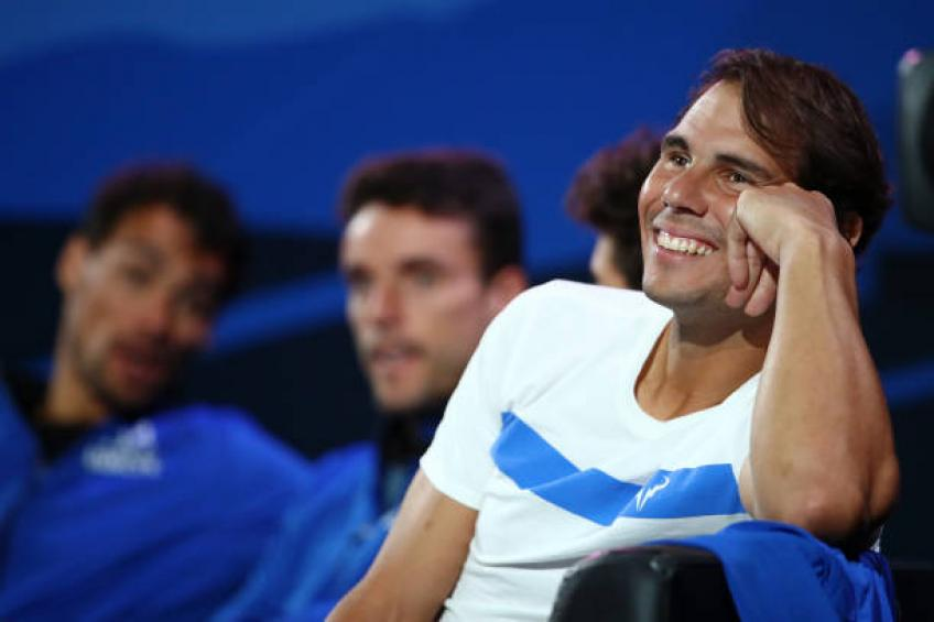 Rafael Nadal is yet to take a decision about playing in Shanghai - Coach