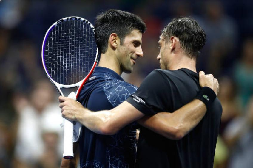 John Millman predicts 'physical' Japan Open final against Novak Djokovic