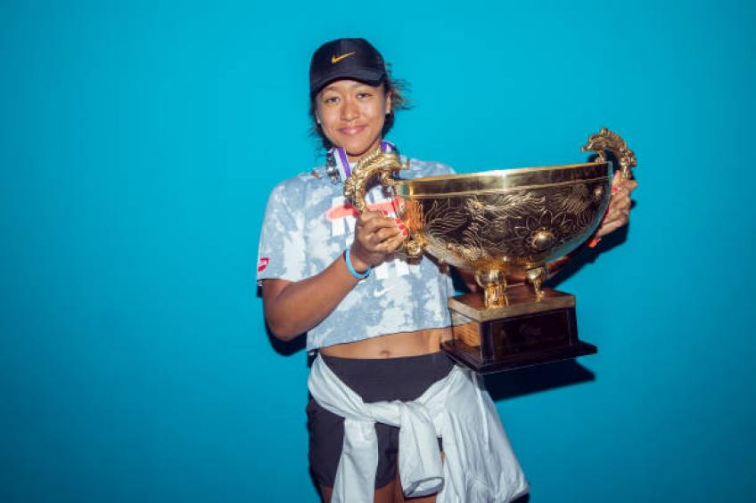 Naomi Osaka jokes after Beijing win: My father annoyed me so much