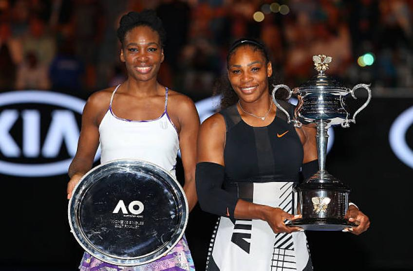 Serena,Venus Williams are like grandparents for American tennis - President