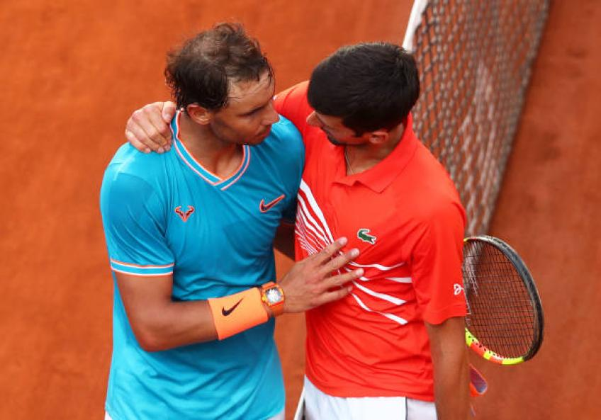 Novak Djokovic: 'Rafael Nadal had an unbelievable year'