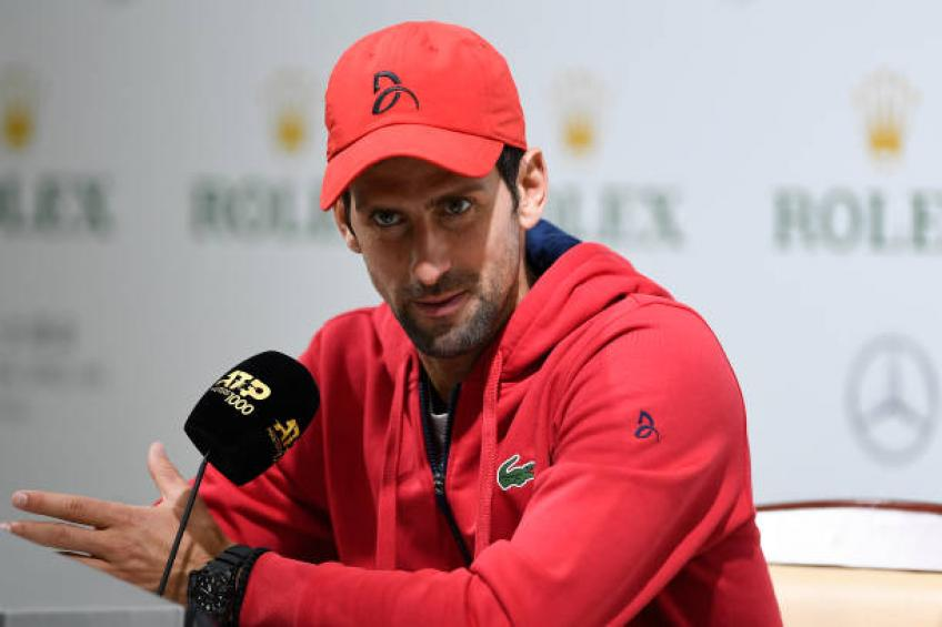 Novak Djokovic: 'Medvedev has been playing the tennis of his life'