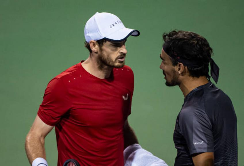 Fabio Fognini: 'I do not know why Andy Murray took it so seriously'
