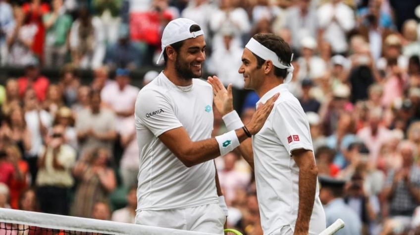 Berrettini: 'Federer, Nadal and Djokovic are playing the best tennis ever'