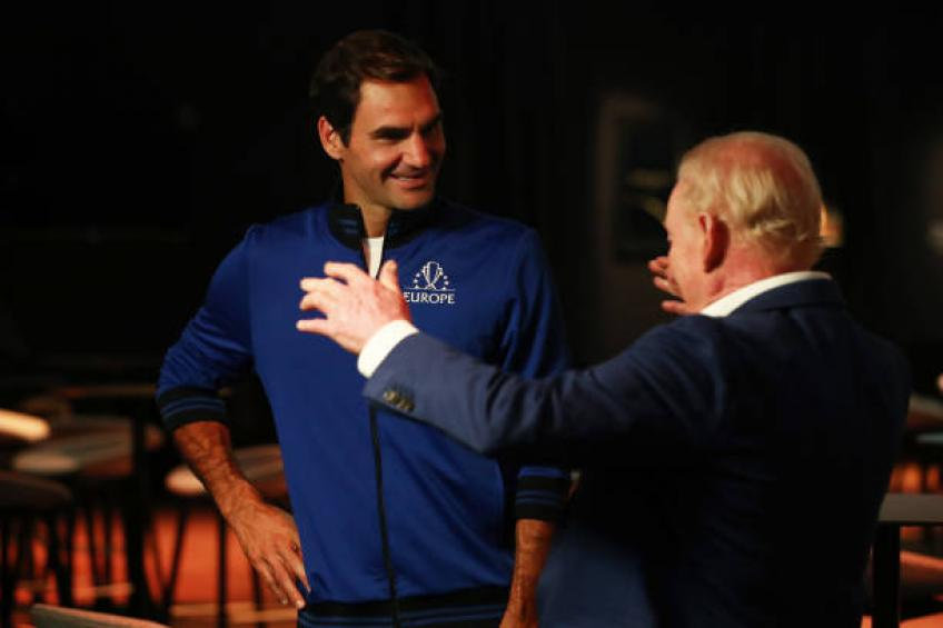 Rod Laver reveals what he speaks about with Roger Federer