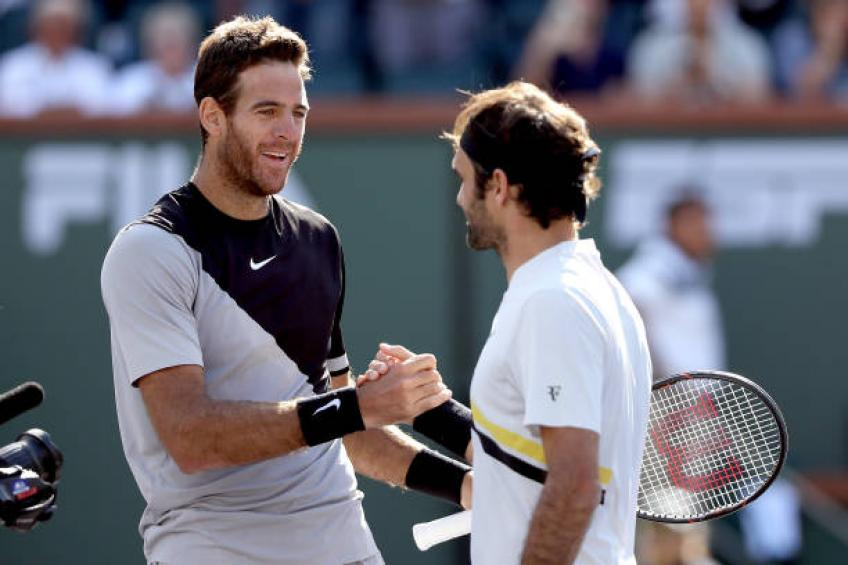 Del Potro: 'Roger Federer, Rafael Nadal, Djokovic made me a better player'