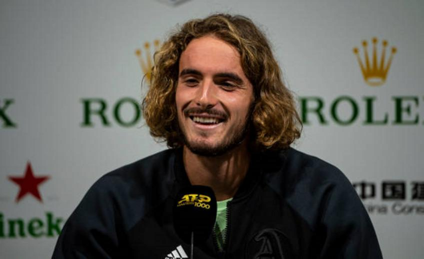 Stefanos Tsitsipas: 'My mother gives VIP tickets to fans everywhere'