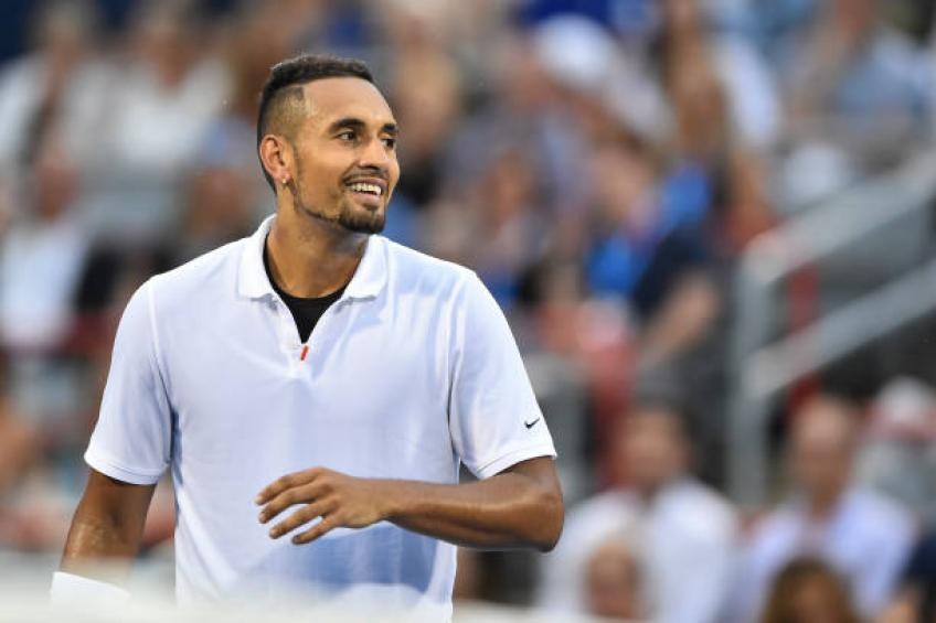 Nick Kyrgios is emotional, you never know how he will play - Paire