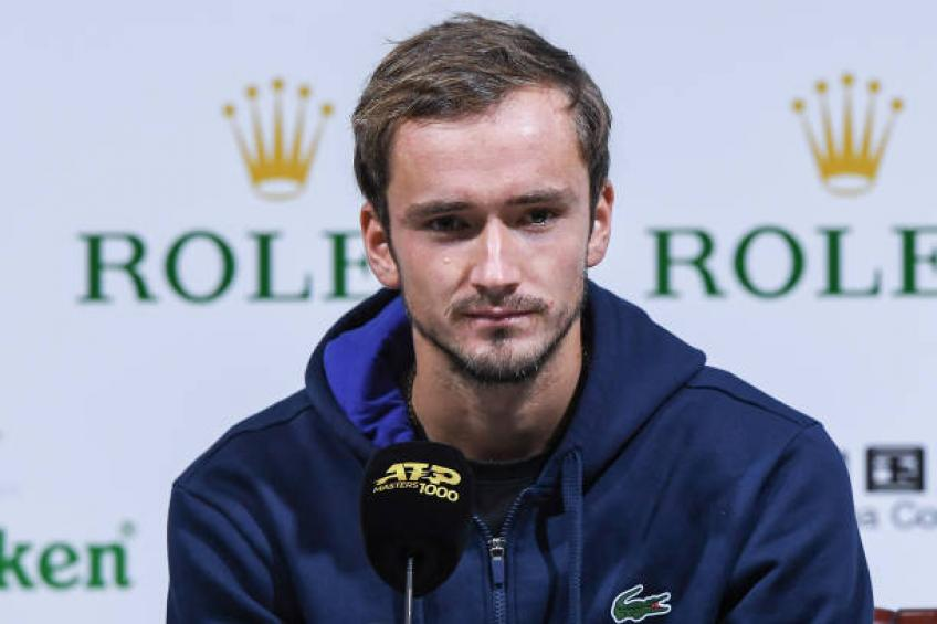 Medvedev reacts to Fabio Fognini saying he is the worst possible opponent