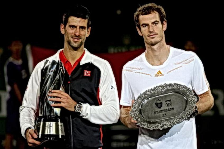 Shanghai Flashback: Novak Djokovic saves five MP's against Andy Murray to win..