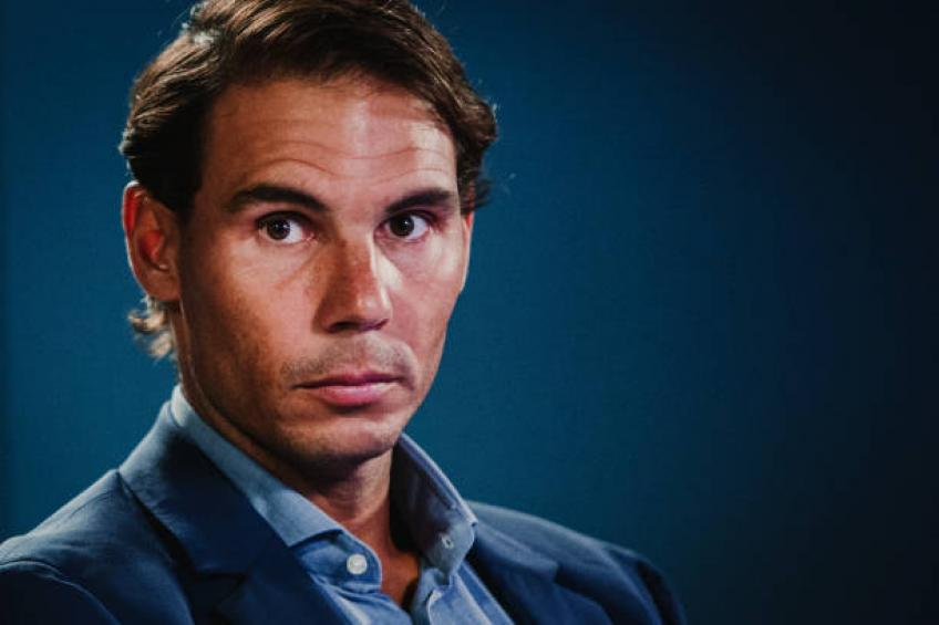 Rafael Nadal: 'As a kid I wanted to improve in every training session'