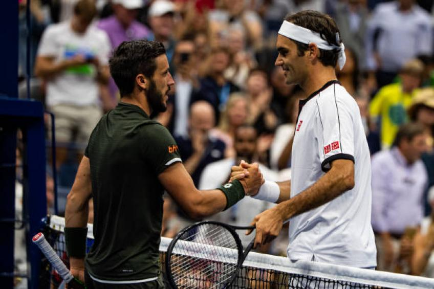 Damir Dzumhur shares earliest memories about Roger Federer