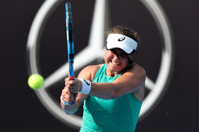 Rebecca Peterson claims Tianjin Open title over Watson