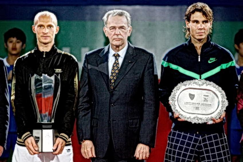 On this day: Nikolay Davydenko upends Rafael Nadal to become the first..