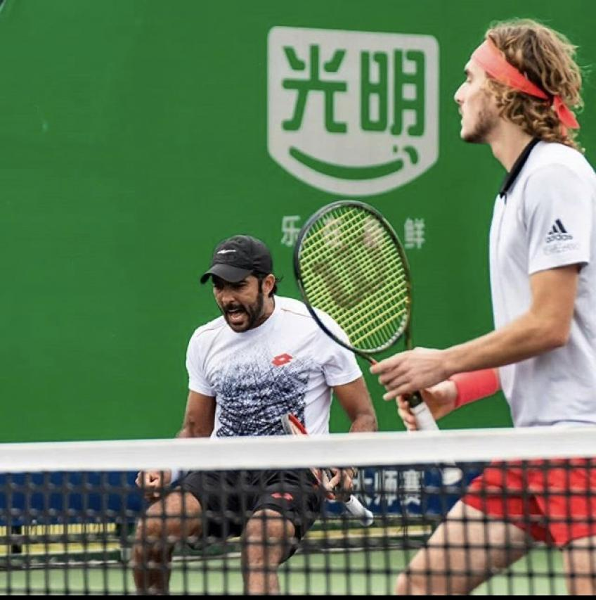 Stefanos Tsitsipas to play doubles with Aisam-Ul-Haq Qureshi in Paris