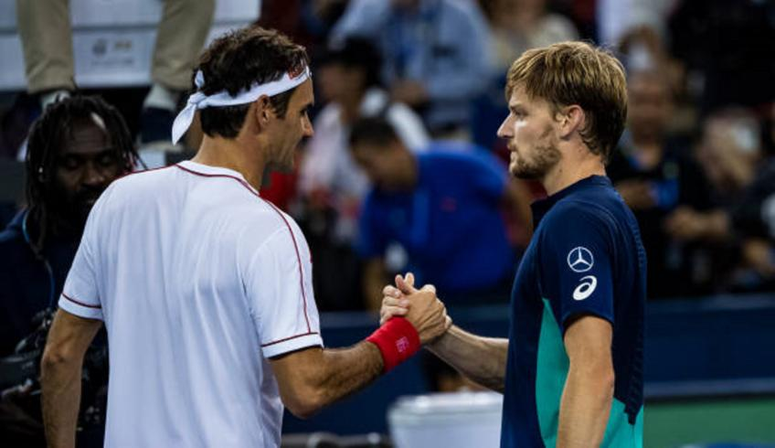 David Goffin ready to bounce back after loss to Roger Federer in Shanghai