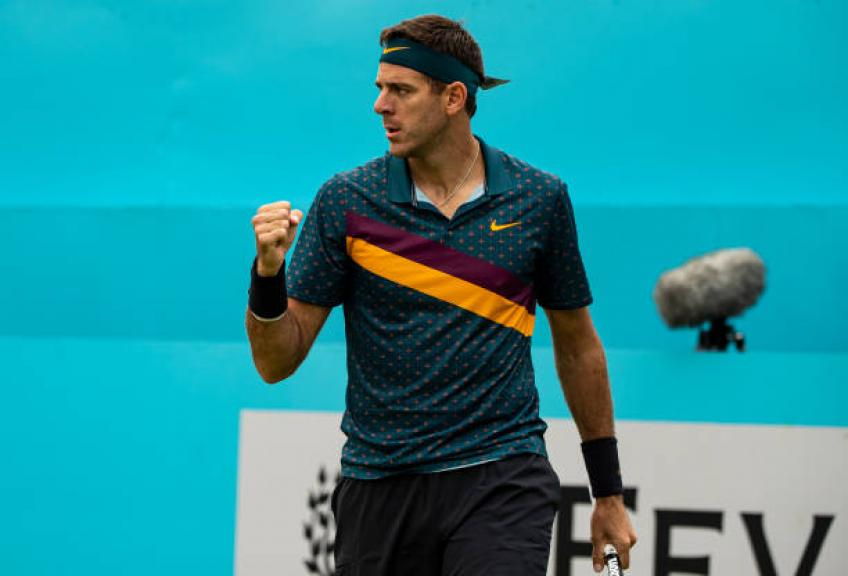 I do not expect to be a top ten player again, says del Potro