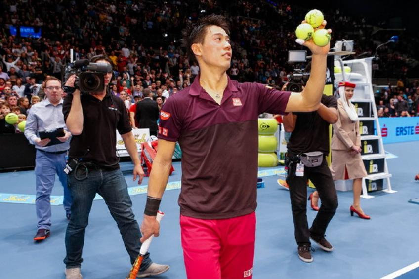 Kei Nishikori withdraws from Vienna to plague ATP Finals hopes