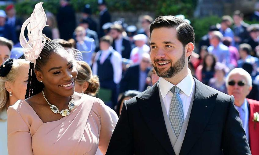 Serena Williams: 'My husband Alexis Ohanian doesn't dim my light'