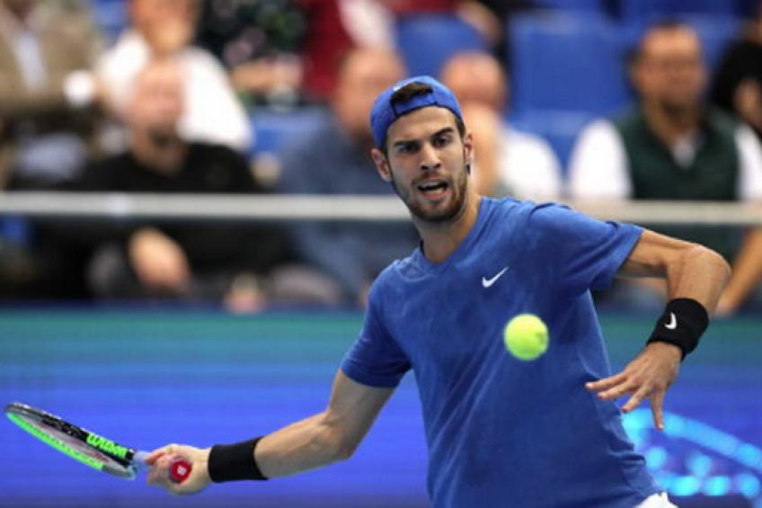 ATP Moscow: Karen Khachanov survives five MP's. Mannarino and Lajovic win