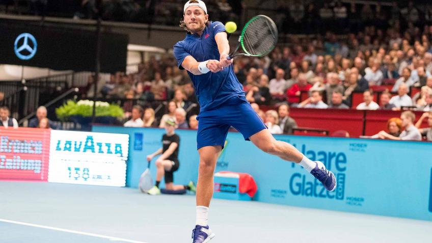 2017 champion Lucas Pouille withdraws from Vienna