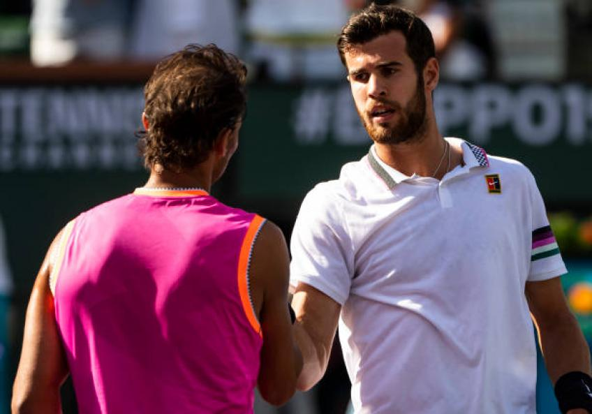 Khachanov:'I played worse in Moscow than I did against Nadal and del Potro'