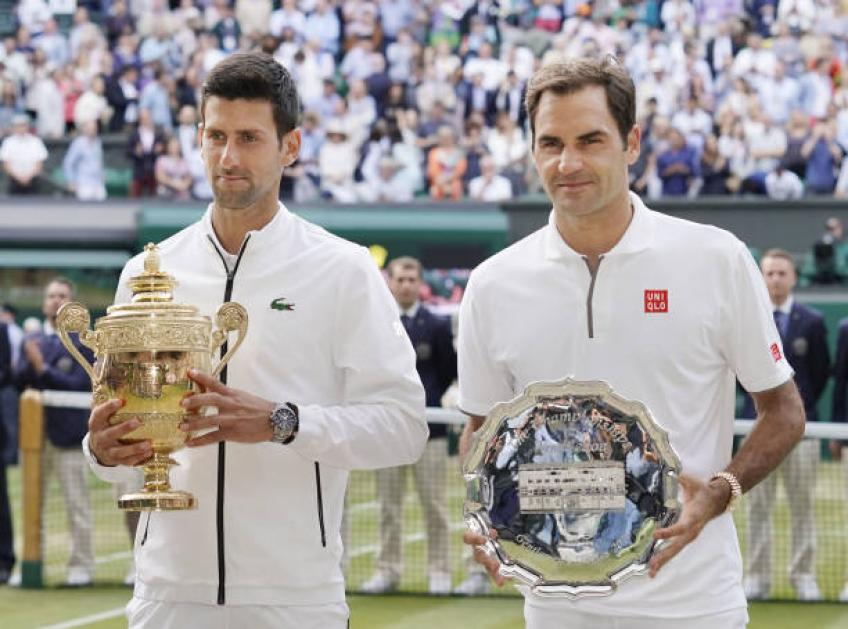 I prayed to God when Djokovic was MPs down against Federer, says mother