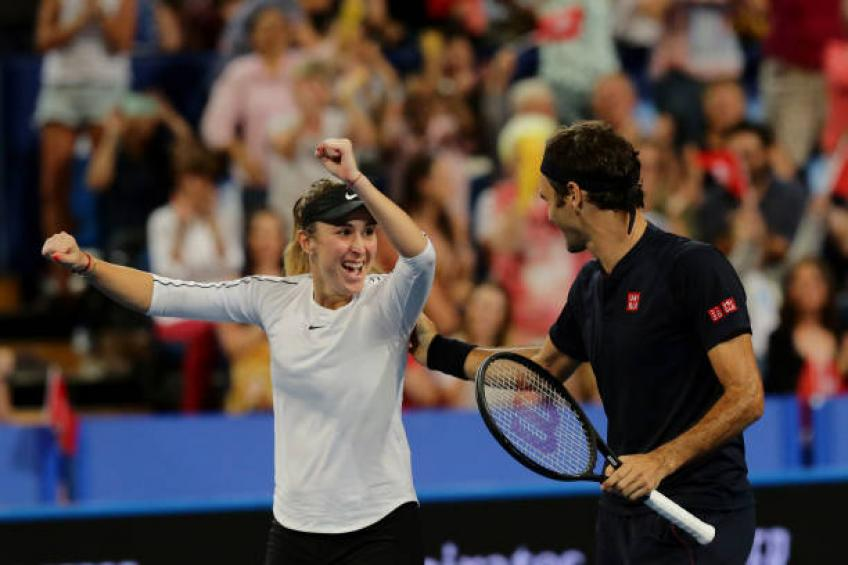 Belinda Bencic shares why she doesn't envy Roger Federer