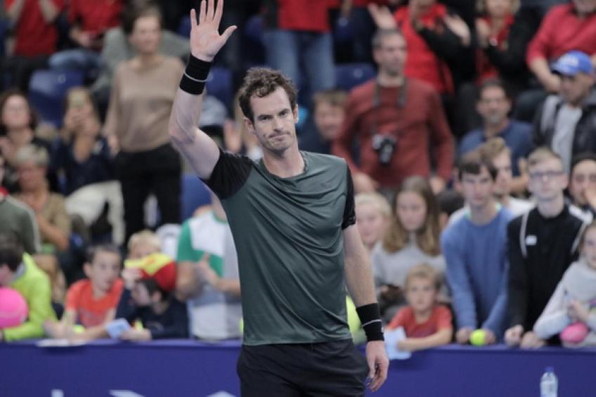 ATP Antwerp: Andy Murray topples Pablo Cuevas to remain on title course