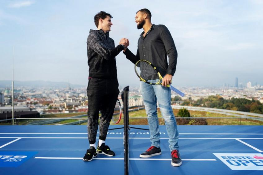 ATP Vienna - DRAW: Thiem vs. Tsonga! Khachanov and Auger-Aliassime to play