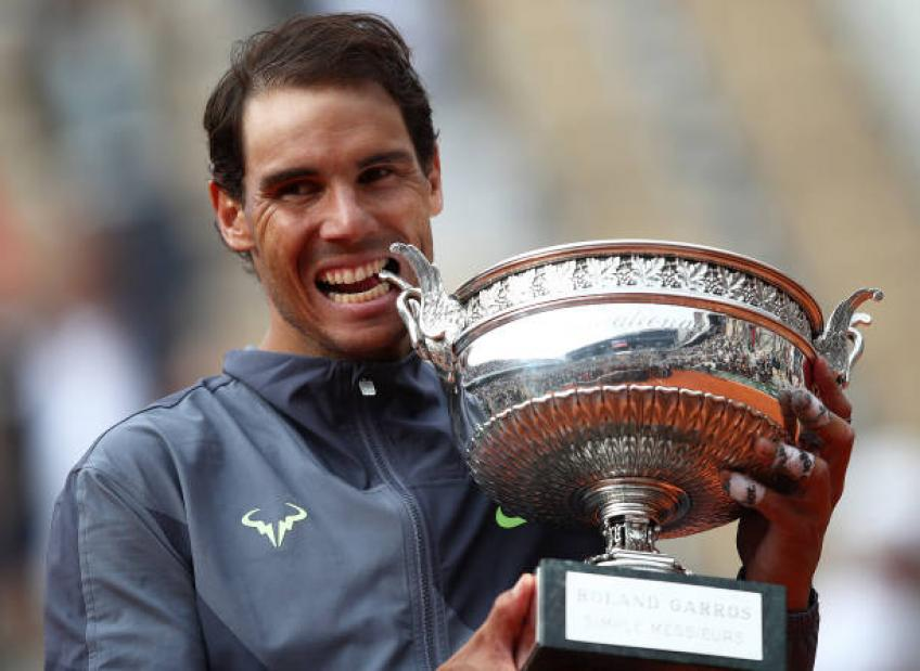 Rafael Nadal doesn't give a point even in training, says Varillas