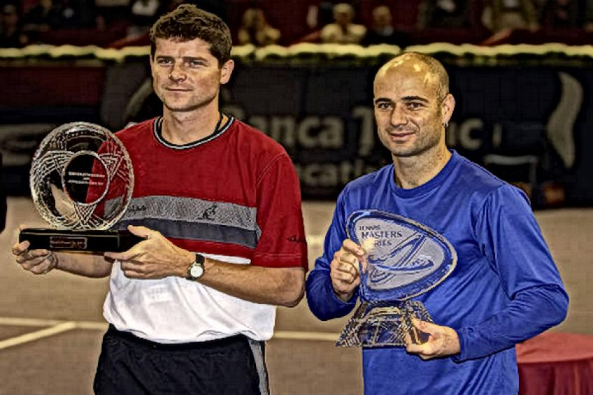 On this day: Andre Agassi conquers first edition of Madrid Masters