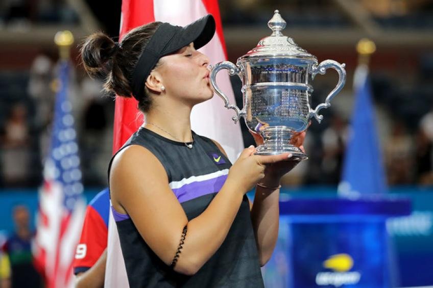 Bianca Andreescu moves ahead of Eugenie Bouchard as the highest-ranked..