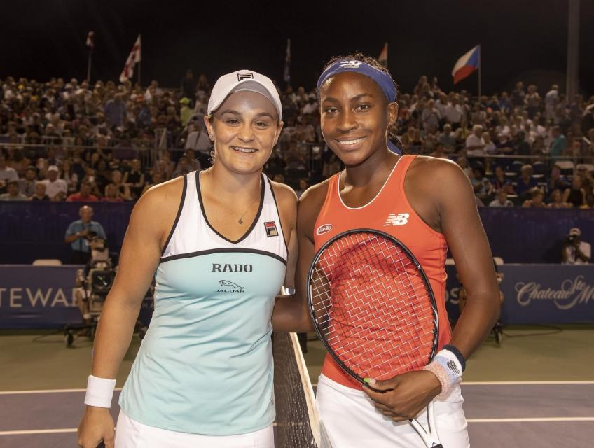 Steffi Graf speaks about Ash Barty and Coco Gauff