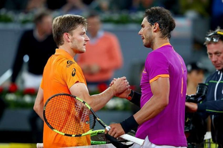 David Goffin's resurgence started against Rafael Nadal - Coach