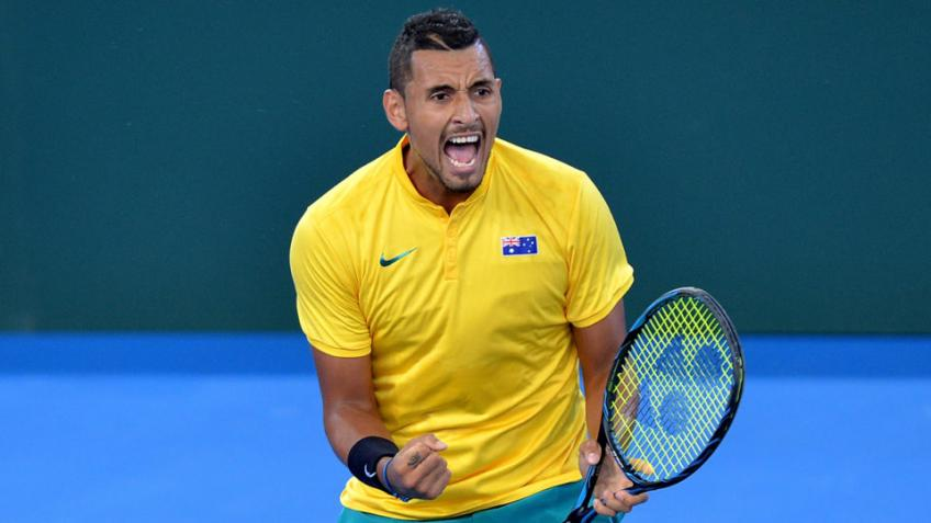 Nick Kyrgios fully committed and dedicated to helping Australia win DC