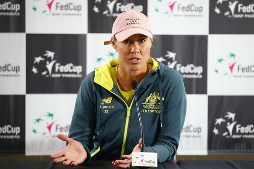Alicia Molik: 'Last Fed Cup final at home carries special significance'